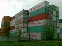 New and used steel shipping containers
